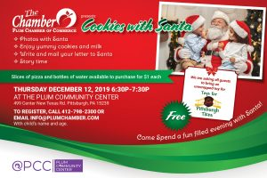 Cookies with Santa @ Plum Community Center